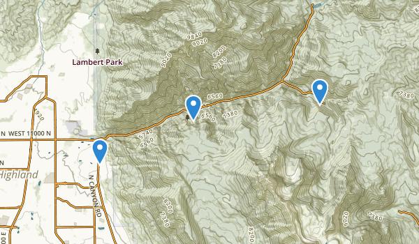 Timpanogos Cave National Monument Map