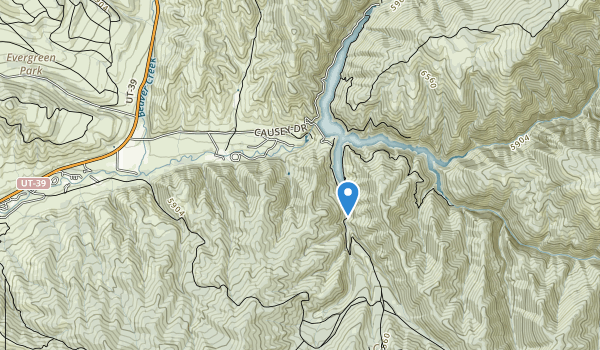trail locations for Weber County Memorial Park