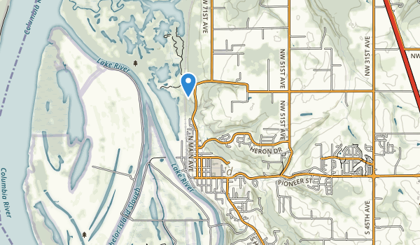 trail locations for Abrams Park