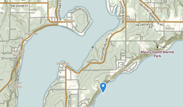 Burton Acres Park Map