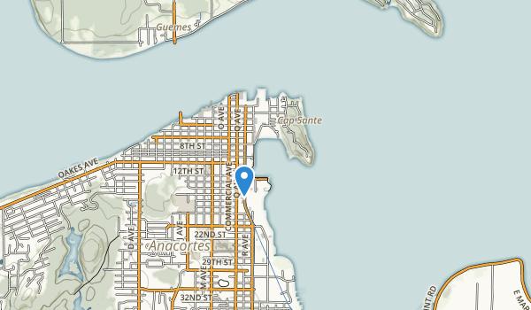 trail locations for Cap Sante Park