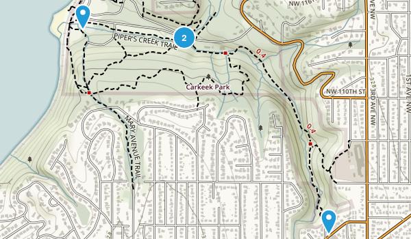 Carkeek Park Map