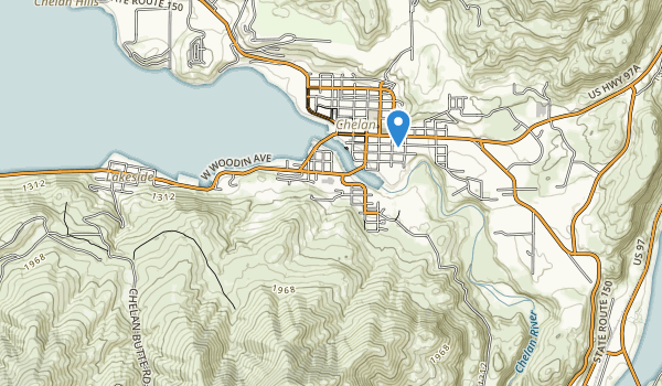 trail locations for Chelan County Park