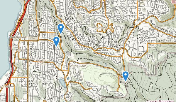 Coal Creek Park Map