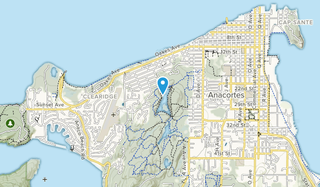 Cranberry Lake Park Map