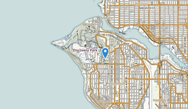 Discovery Park Map