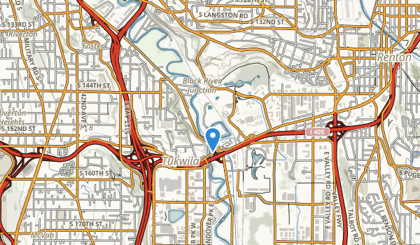 Fort Dent Athletic Center Map