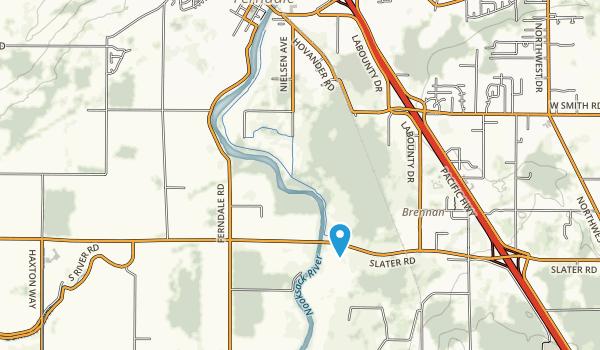 Hovander Homestead Park Map