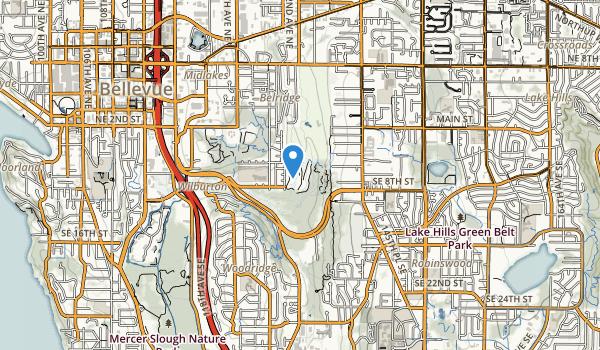 Kelsey Creek Park Map