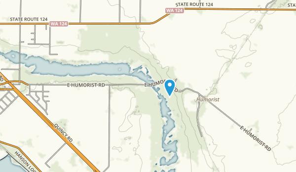 McNary National Wildlife Refuge Map