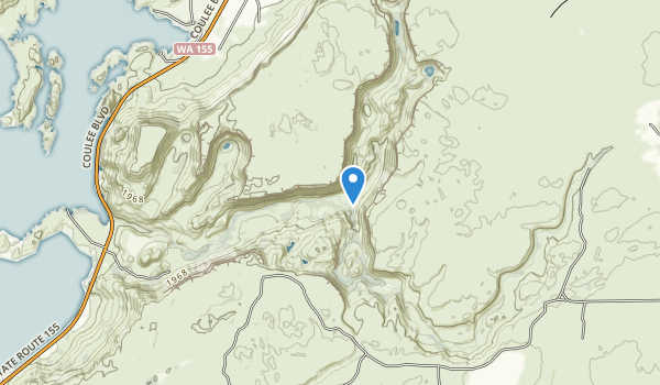 Northrup Canyon State Park Map