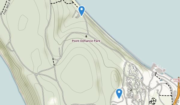 Point Defiance Park Map