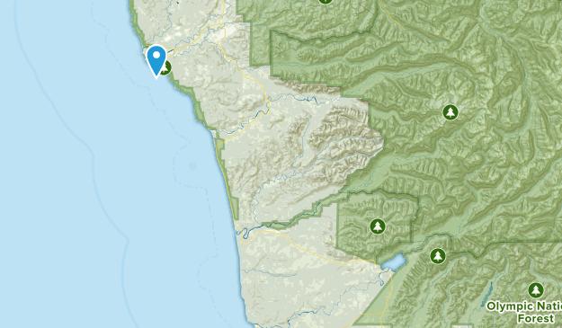 Quinault Recreation Area Map