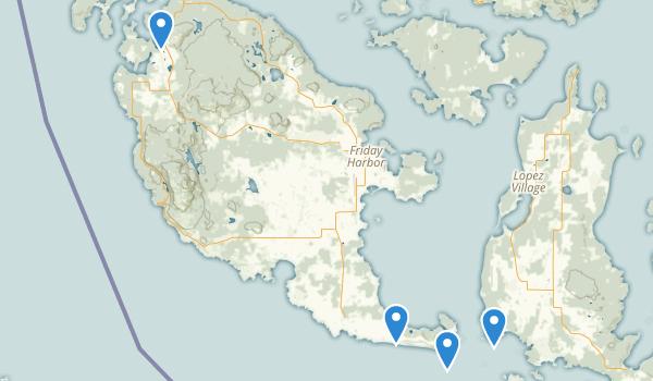 San Juan Island National Historical Park Map