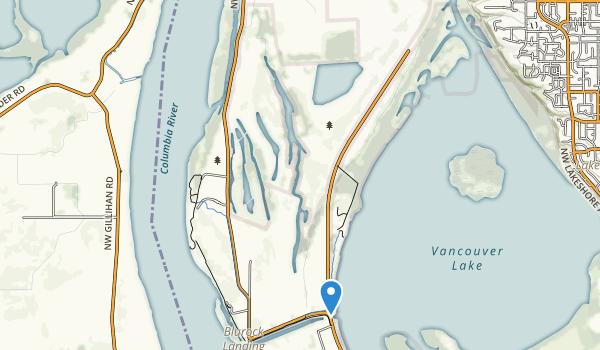 Shillapoo Wildlife Recreation Area Map