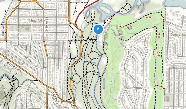 trail locations for Washington Park Arboretum