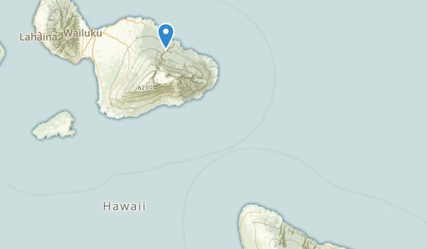 trail locations for Kamehameha Park