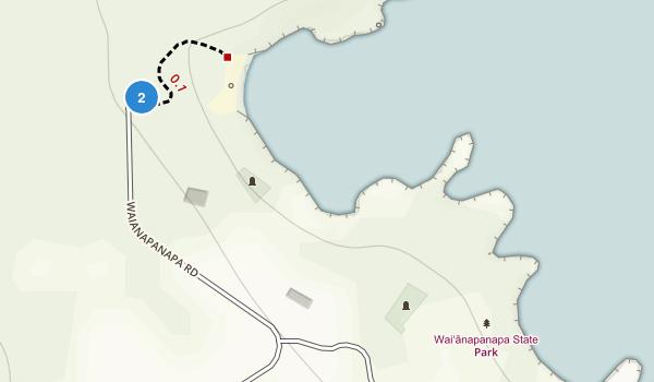 Wai'ānapanapa State Park Map