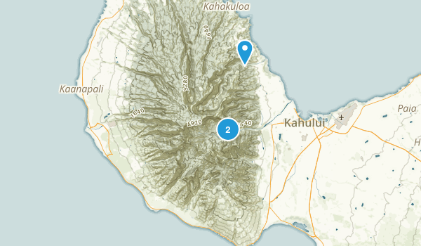 West Maui Forest Reserve Map