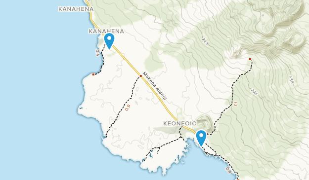 Ahihi-Kinau Natural Area Reserve Map