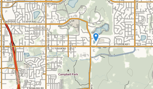 trail locations for Campbell Creek Park