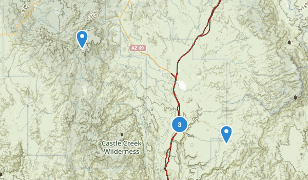 Agua Fria National Monument Map