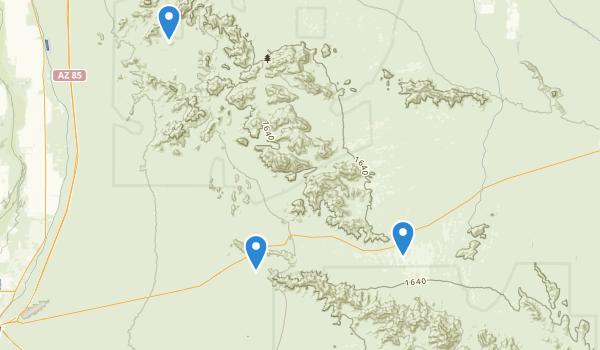 Sonoran Desert National Monument Map