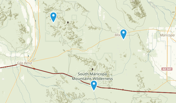 Sonoran Desert National Monument Map