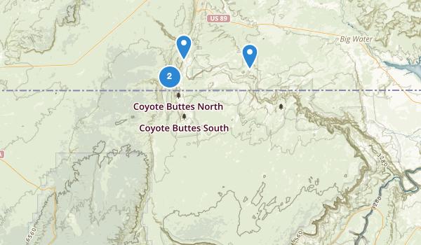 Vermilion Cliffs National Monument Map