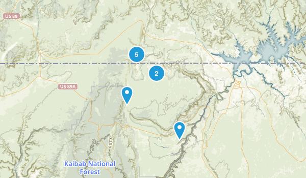 Best Trails In Vermilion Cliffs National Monument Arizona - Where is arizona