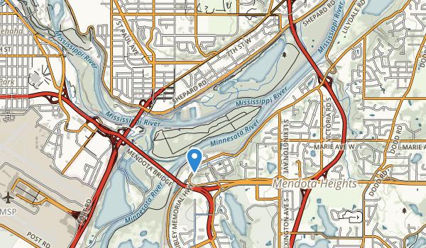 Crosby Lake Regional Park Map