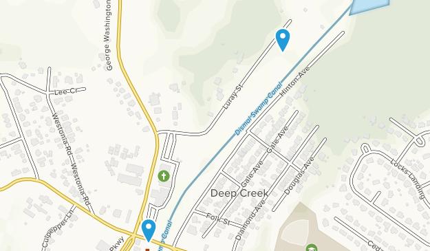 Deep Creek Lock Park Map