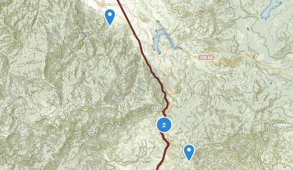 Siskiyou Mountain Park Map
