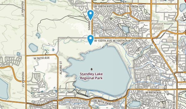 Standley Lake Park Map