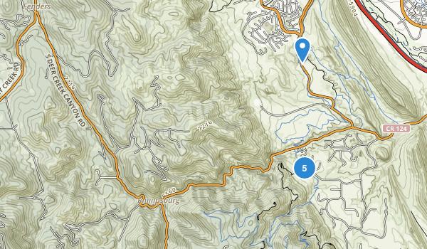 Deer Creek Canyon Park Map