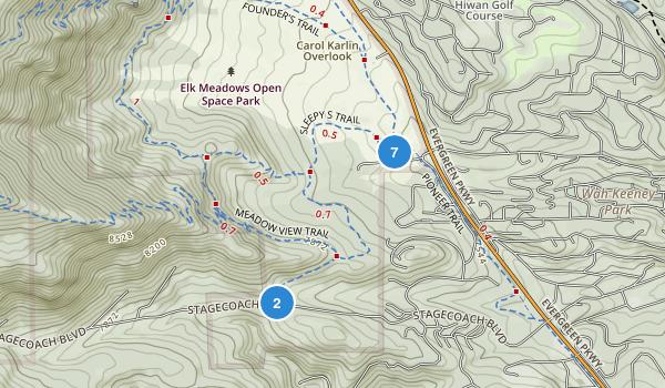 Elk Meadow Park Map