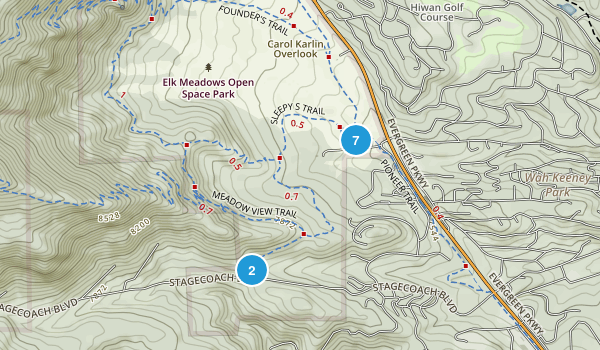 Elk Meadow Park Map