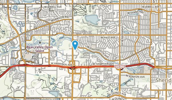Bear Valley Park Map