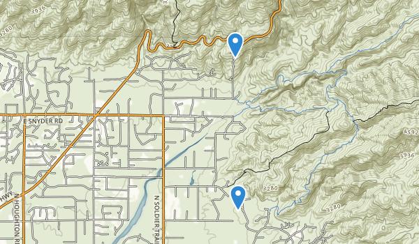 trail locations for Roy P Drachman - Agua Caliente Regional Park