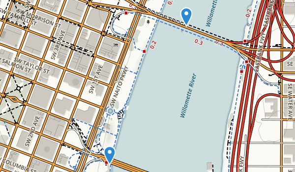 Governor Tom McCall Waterfront Park Map