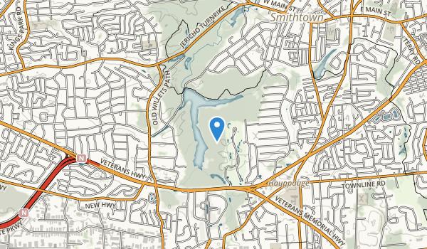Blydenburgh Park Map