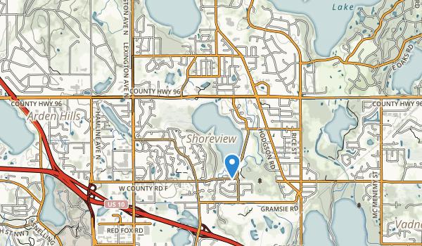 Shoreview Commons Park Map