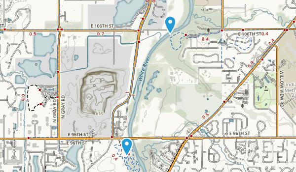 Hazel Landing Park Map