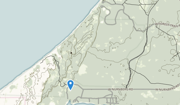Lake Michigan Recreation Area Map