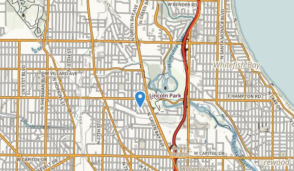 trail locations for Meaux Park