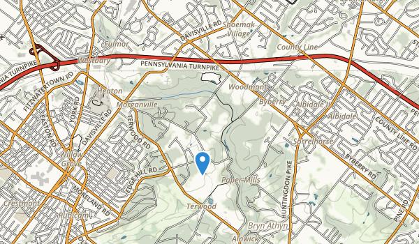 Masons Mill Park Map