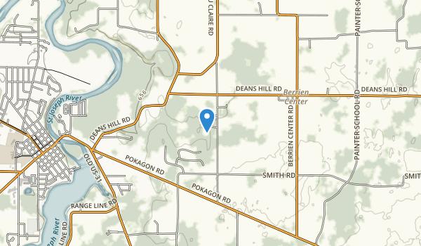 Love Creek County Park Map