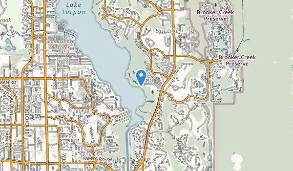 trail locations for John Chestnut Senior Park