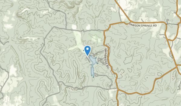 Pennyrile Forest State Resort Park Map