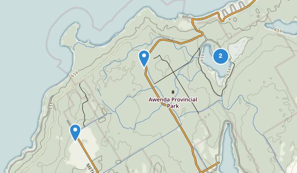 Awenda Provincial Park Map
